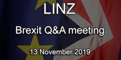 Linz - British Embassy Brexit Q&A Event