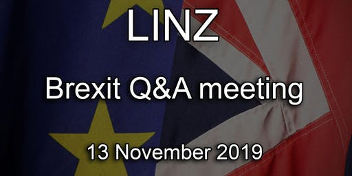 Linz - British Embassy Brexit Q&A Event