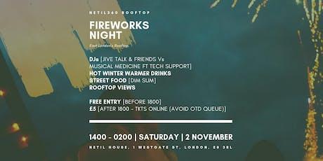 Fireworks Night 2019 [1400 - 0200 | Saturday | 02 November] tickets