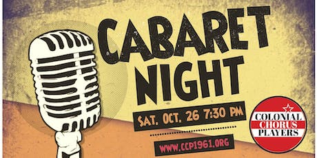 Colonial Chorus Players Cabaret tickets