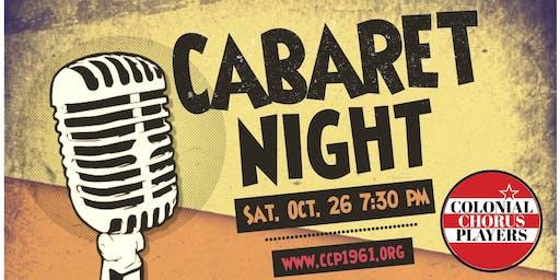 Colonial Chorus Players Cabaret