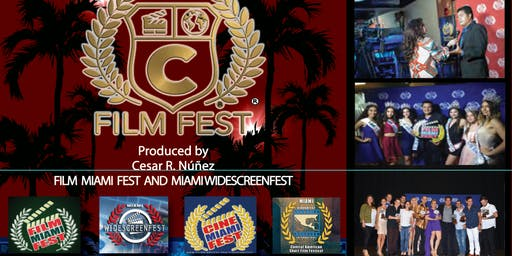 FILM FESTIVAL  5th Annual Film Miami Fest, Widescreenfest, Cinecafest, and Cine Miami Fest LATINO. October 19-20   Best Shorts Worldwide.  Full weekend of screening,red carpet, music, and awards.