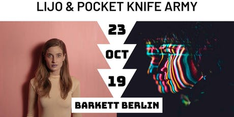 Dutch Electronic Invasion - LIJO & Pocket Knife Army Tickets