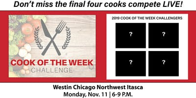 Cook of the Week Challenge Finale 2019