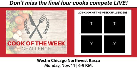 Cook of the Week Challenge Finale 2019 tickets