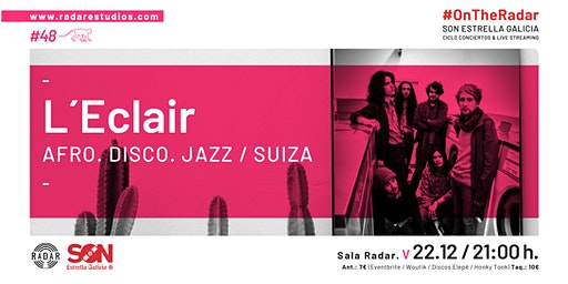 L'Eclair (Afro - Disco -Jazz. Suiza) en #OnTheRadar