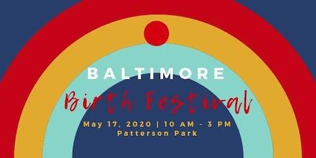 Baltimore Birth Festival tickets