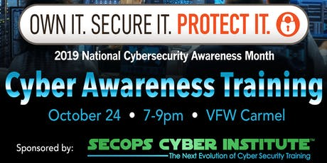 Cyber Awareness Training tickets