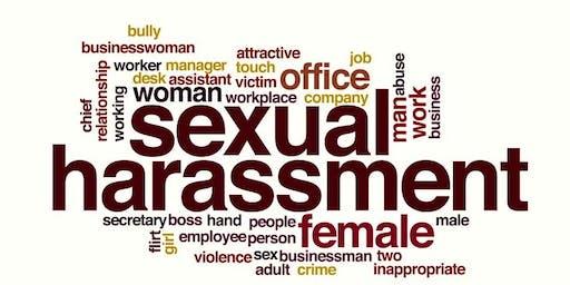 Sexual Harassment Training for Non-Supervisors & Supervisors- 2019