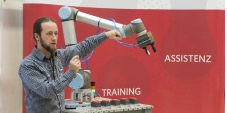 DI_Day IX - Robotik in Anwendung // Einstieg in die Roboterreise nach China Tickets