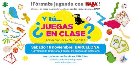 Y tú...¿Juegas en Clase? Formación para Educadores con Juegos de Mesa HABA