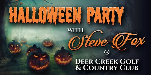 Steve Fox's Halloween Party at Deer Creek Country Club in Deerfield Beach!