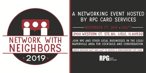 Network with Neighbors - Networking Event