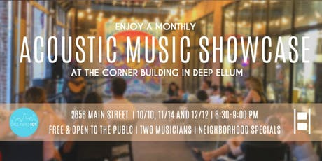 Deep Ellum Acoustic Music Showcase tickets