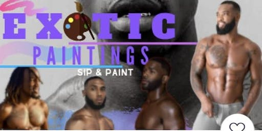 DC Exotic Paintings Friday BYOB Sip & Paint Male Models