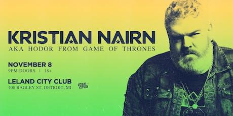 Kristian Nairn (DJ Set) tickets