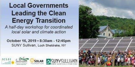 Local Governments Leading the Clean Energy Transition tickets