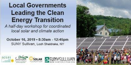 Local Governments Leading the Clean Energy Transition