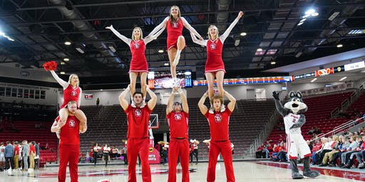 USD Cheerleading Recruit Visit & Skills Clinic