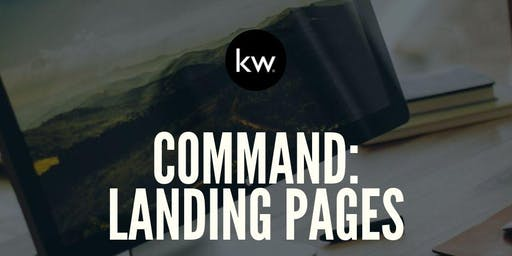 Command: Landing Pages with Amanda