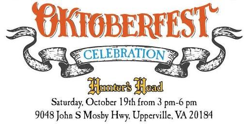 Oktoberfest Celebration at Hunter's Head Tavern