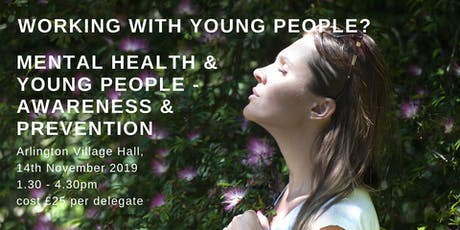 Mental Health and Young People - Awareness and Prevention tickets