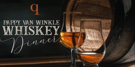 Pappy Van Winkle Whiskey Dinner
