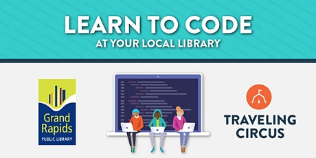 Remote Intro to Coding Workshop with Grand Rapids Public Library  tickets