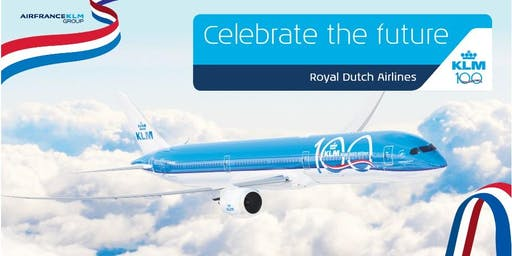 KLM, Royal Dutch Airlines – Celebrate the Future: 100 Years Anniversary