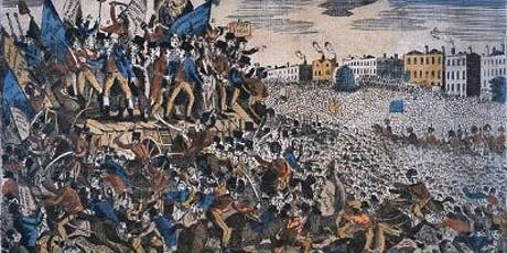 Rescheduled - Peterloo Remembered 1819-2019 tickets