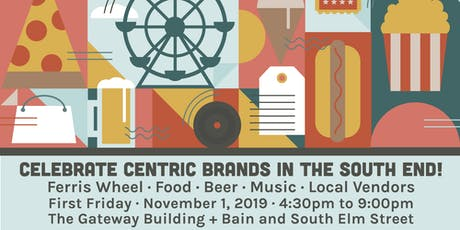 Vendor Registration - Celebrate Centric Brands in the South End tickets