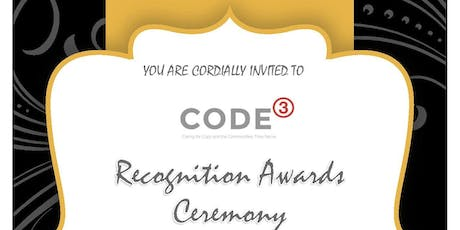 Code3's Recognition Awards Ceremony tickets