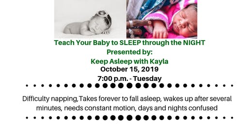 Teach Your BABY to SLEEP through the NIGHT - Keep Asleep with Kayla