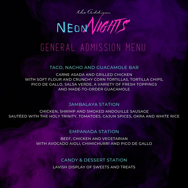 "Halloween at the Addison presents ""Neon Nights"" image"