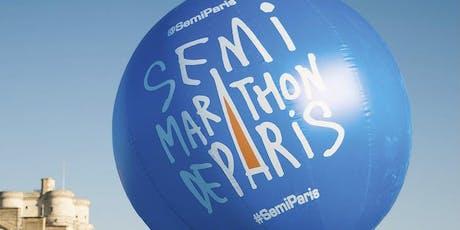 Paris Half Marathon 2020 for Carers UK billets