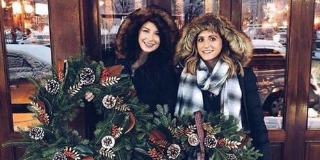 Deck the Halls Downtown Winter Wreath Workshop with Alice's Table tickets