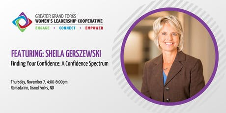 Finding Your Confidence: A Confidence Spectrum with Sheila Gerszewski tickets