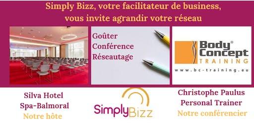 Simply Bizz Network du 21 novembre au Silva Hotel Spa-Balmoral