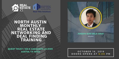 Austin - North Austin Monthly Real Estate Networking and Deal Finding Training