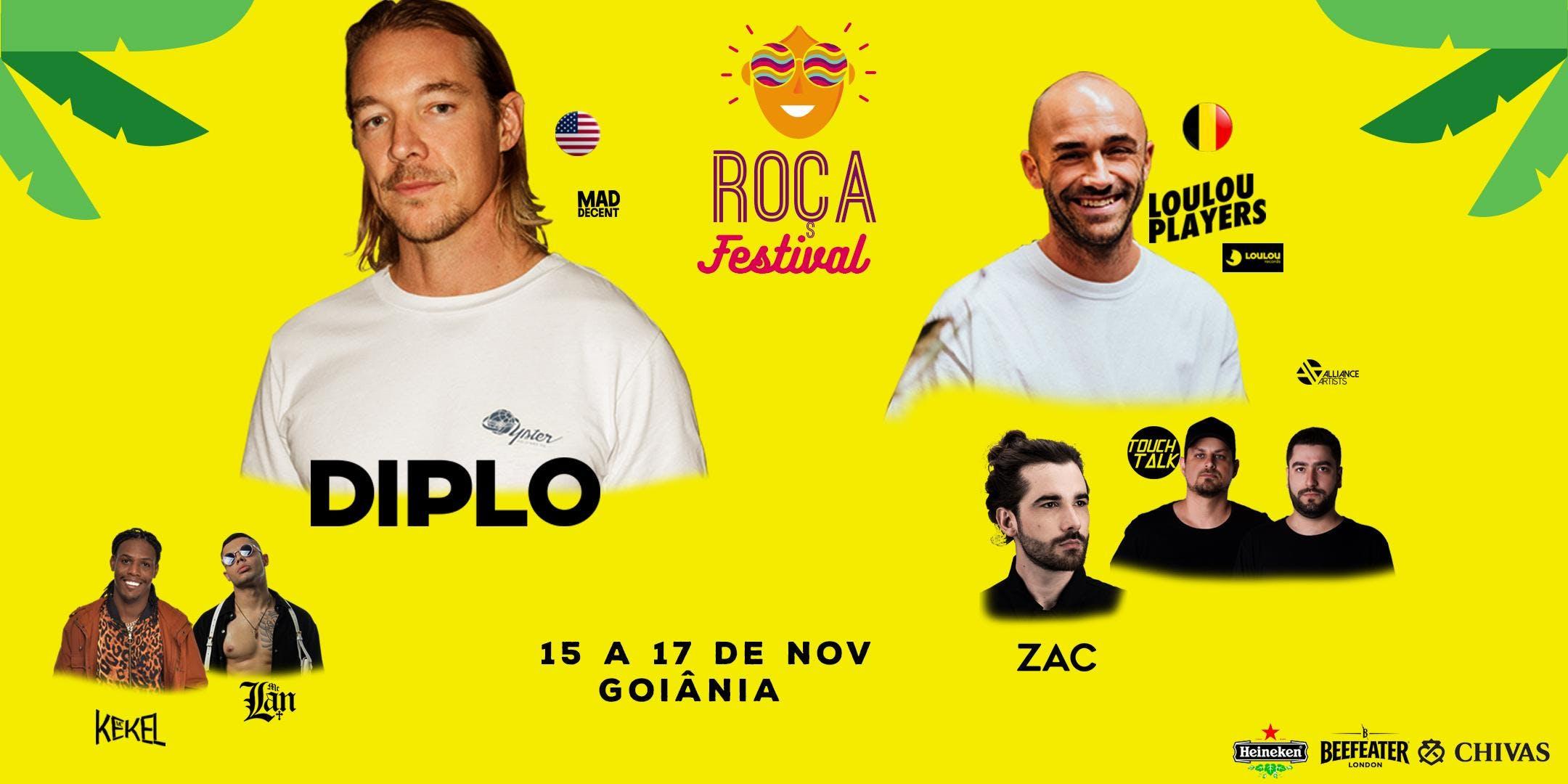 Roça Festival Apresenta: DIPLO