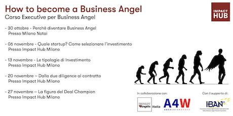 How to become a Business Angel biglietti