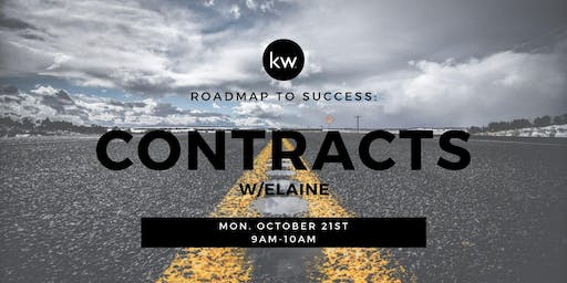 Roadmap to Success: Contracts w/Elaine