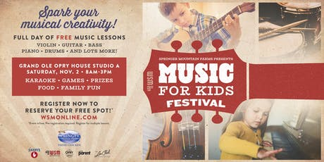 Music For Kids Festival tickets