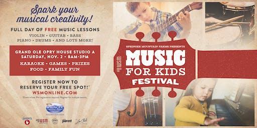 Music For Kids Festival