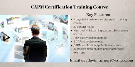 CAPM Training in Amador City, CA tickets