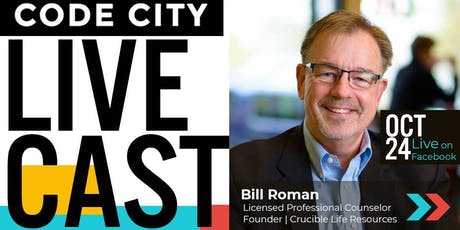 Code City LiveCast with Counselor Bill Roman tickets