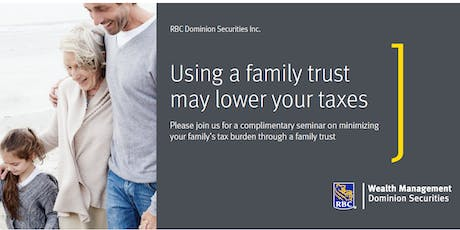 RBC Dominion Securities Family Trust Seminar tickets