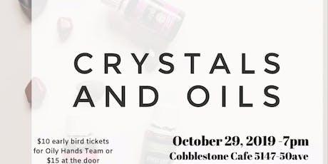 Crystals, Oils + Frequencies tickets