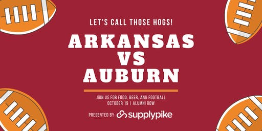 SupplyPike Razorback vs Auburn Tailgate