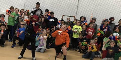 Kids Halloween Nerf War Ages 6-12